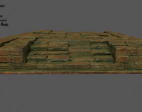 Stairs 3D model low-poly