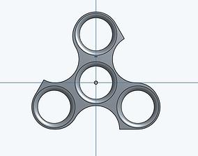 Fidget Spinner 3D print model