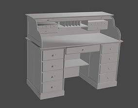 3D print model 18th century roller desk