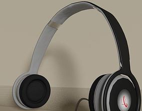 Realistic Headphone 3D model