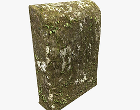 Mossy tomb 3D asset