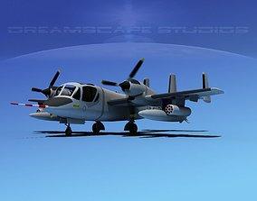 3D Grumman OV-1D Mohawk V06