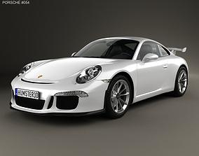 3D Porsche 911 991 Carrera GTR3 2013