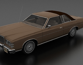 LTD Brougham 2dr 1975 3D model