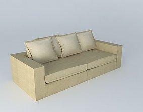 Agency 3D Sofa BARNABE linen houses the world