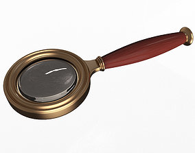 3D asset realtime Magnifying Glass
