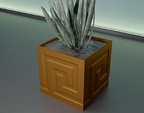 succulent plant pot 31 3D print model