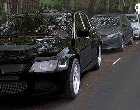 Mitsubishi Lancer evo car 3D model