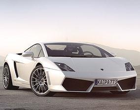 3D lp Lamborghini Gallardo