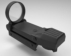 Coyote Sight - Red Dot - Weapon Attachment - 3D model 4