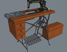 Sewing machine Wheeler Wilson 8 3D model