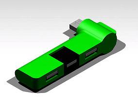 3D model USB Hub