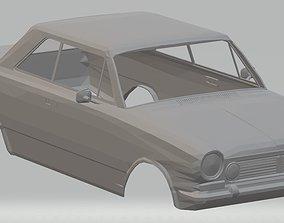 Renault Torino Printable Body Car