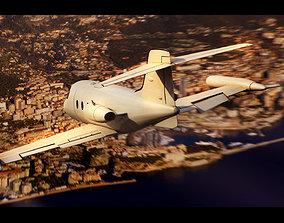 3D Bombardier Learjet 30