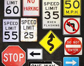 Metal Signs 1 3D