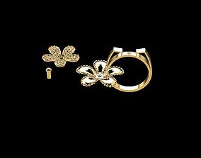 3D print model Gold Ring 205