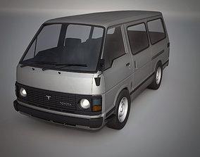 toyota hiace 1982-1989 3D