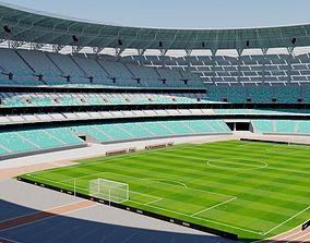 Baku Olympic Stadium - Azerbaijan 3D model