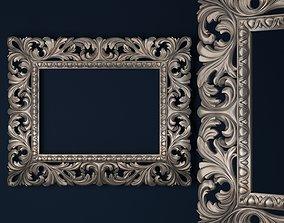 3D print model mirror frame