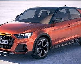 3D model Audi A1 Citycarver 2020