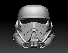 Accurate Patrol Trooper Helmet Star 3D printable model 3