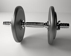 3D model gym Dumbbell