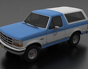 3D model Bronco 1992