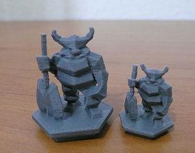 Guardian of virgin 3D print model