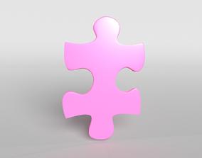 3D model Jigsaw Symbol v1 008