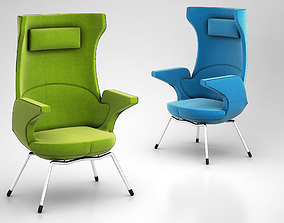 i-SIT armchair by Magnus Olesen 3D