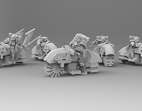 Knights of Roma - Mounted Knights 3D printable model