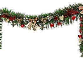 Christmas Garland 3D