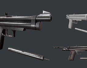 3D model Tranquilizer Gun