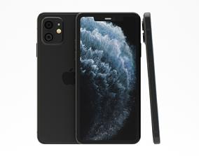 ipad 3D model Iphone 11