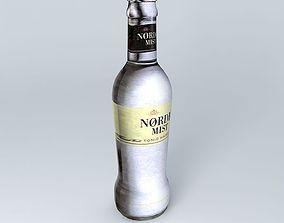 3D model Nørdic Mist Tonic Water Bottle