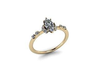 3D print model Jewelry Ring diamond-ring
