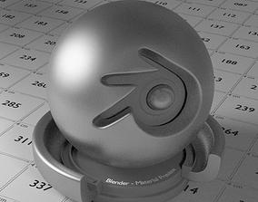 3D model Silver Shader