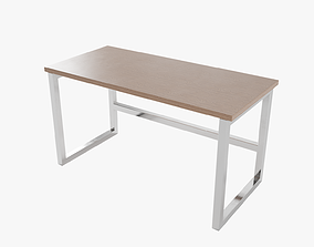 Rectangular Table Lowpoly 3D model