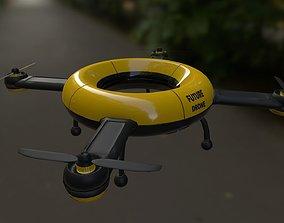 Drone Future 3D asset