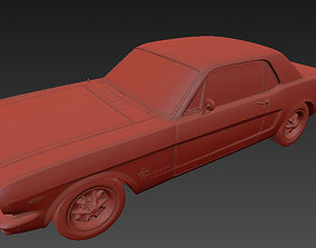 ford mustang 65 3D print model