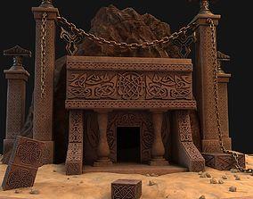 Cave entrance 3D