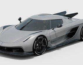 3D model Koenigsegg Jesko Absolut