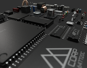 Electronic components kit 3D