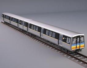 3D Marta Rail Train