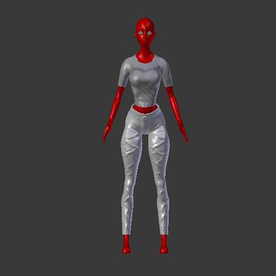 female clothing T-shirt and pants