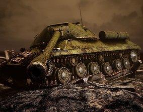 Tank IS-3 1944 UE4 3D asset