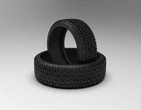 Nokian tire ring with hakkapeliitta 3D printable model