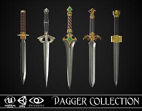 3D model Dagger Collection A1