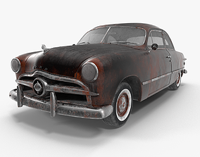 Ford Club Coupe Rusty 3D model