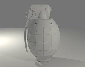 Grenade 3D print model
